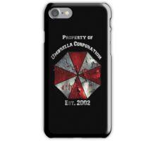Property of Umbrella Corp Variant iPhone Case/Skin