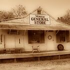 Mauzy General Store by James Brotherton