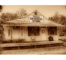 Mauzy General Store Photographic Print