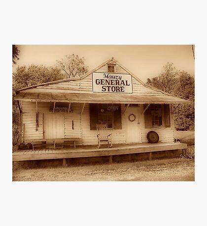 Mauzy General Store Photographic Print