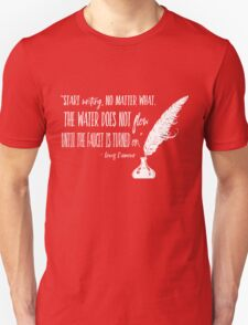 Louis L'Amour Quote 2 T-Shirt