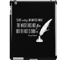 Louis L'Amour Quote 2 iPad Case/Skin