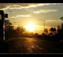 Industrial sunrise by mashdown