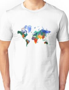 Oh!  What A Watercolor World Unisex T-Shirt