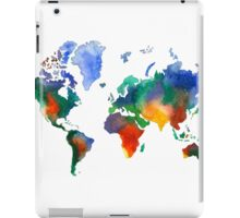 Oh!  What A Watercolor World iPad Case/Skin