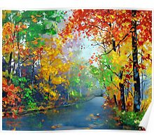 Autumn Trees 2 Poster