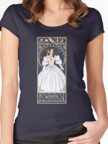 Sarah Nouveau - Labyrinth Women's Fitted Scoop T-Shirt