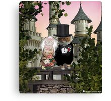 Just Married! Canvas Print
