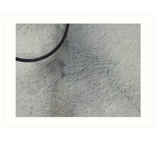 Wire and Stucco Art Print