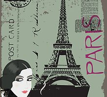 From Paris with love framed art work! by Will Snell