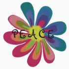 Peace Flower by 2HivelysArt