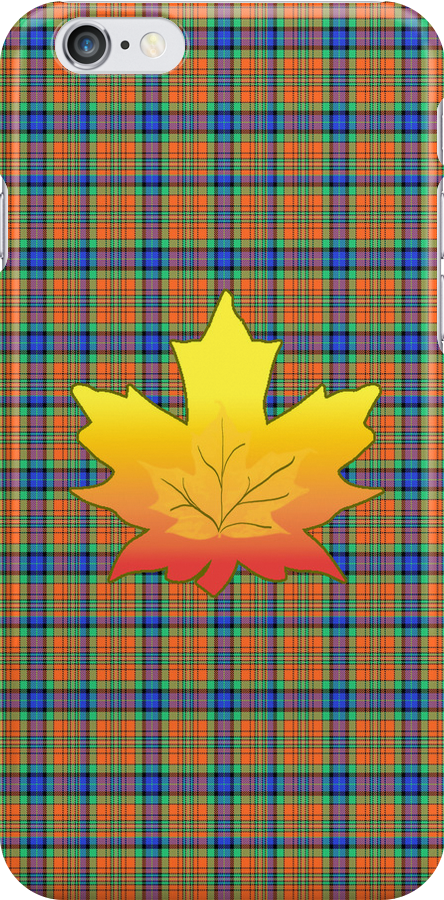 Autumn Leaf Plaid by 2HivelysArt