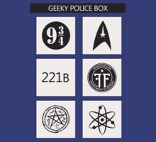 GEEKY POLICE BOX by GeorgioGe