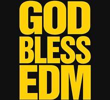 God Bless EDM (Electronic Dance Music) [mustard] Unisex T-Shirt