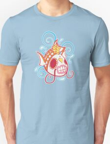 Magikarp Pokemuerto   Pokemon & Day of The Dead Mashup T-Shirt