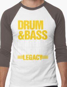 Drum & Bass United Kingdom Legacy  Men's Baseball ¾ T-Shirt