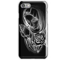 MOTHER MARY NEGATIVE iPhone Case/Skin