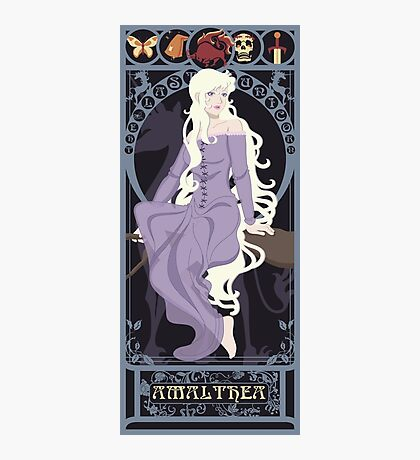 Amalthea Nouveau - The Last Unicorn Photographic Print