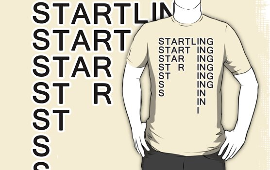Startling the magic word by Chrome Clothing