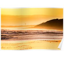 after the sunset at barwon heads Poster