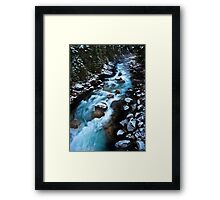 Meltwater Framed Print