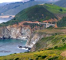 Bixby Creek Bridge - Big Sur by Federica Gentile