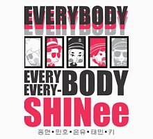 SHINee Chibi Everybody Unisex T-Shirt