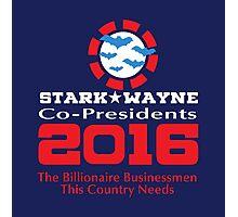 Stark & Wayne Co-Presidents 2016 Photographic Print