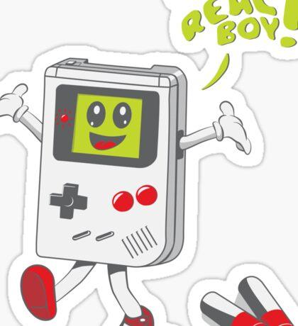 I'm a Real Boy! Sticker