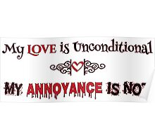 Love and Annoyance Poster