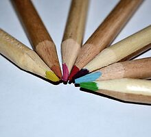 Colouring pencils.. simplicity to a child by Prettyinpinks