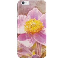 Japanese Anemone iphone case iPhone Case/Skin