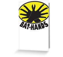 Bat_Hands Greeting Card