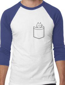 Cat in Your pocket Men's Baseball ¾ T-Shirt