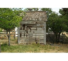 A Tool Shed Photographic Print