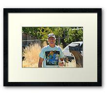 Pops Framed Print