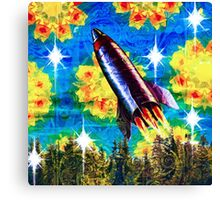 Sky Above Saturday Canvas Print