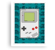 Game Boy Canvas Print