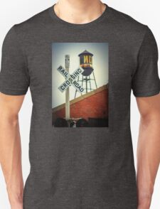 Railroad Crossing At Packard Plant In Detroit Unisex T-Shirt