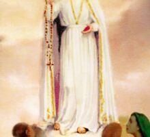 Our Lady of Fatima Sticker