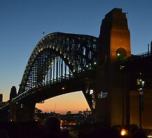 Sydney Harbour Bridge by Paul Watson