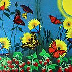 BUTTERFLIES AND STRAWBERRIES by Dennis Knecht
