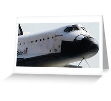 Endeavour Space Shuttle Greeting Card