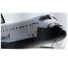 Endeavour Space Shuttle Poster