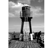 Whitby Pier Photographic Print
