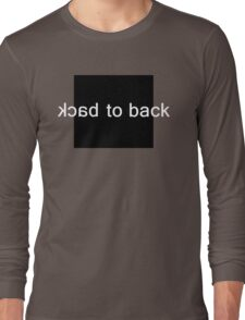Back to Back Long Sleeve T-Shirt