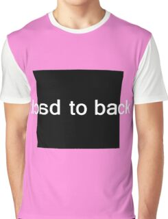 Back to Back Graphic T-Shirt