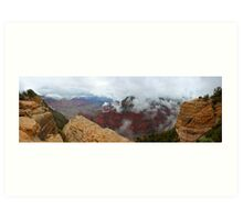 Grand Canyon Clouds Art Print