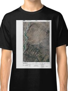 USGS Topo Map Washington State WA Keystone 20110503 TM Classic T-Shirt
