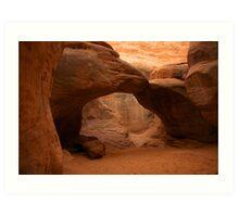 Sand Dune Arch Art Print